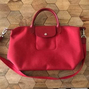 LongChamp Medium Red